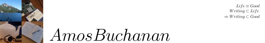 Amos Buchanan
